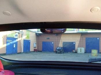Помощь парктроника при тонированных стеклах