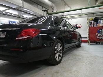 Тонировка задних стекол Mercedes от CarWorks